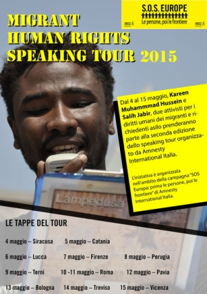 """Speaking tour"""